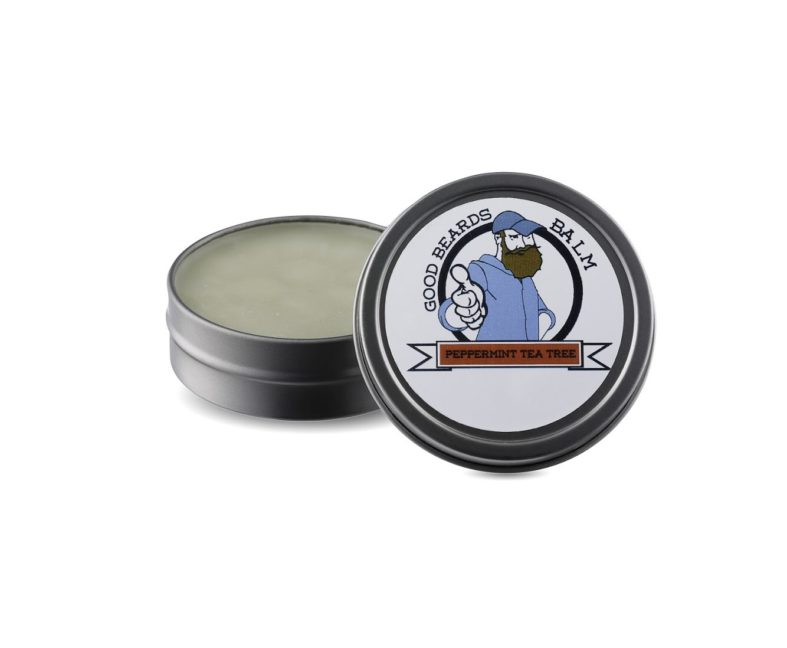 Peppermint / Tea Tree – Handcrafted Beard Balm